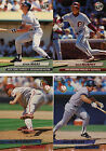 1991 1992 1993 1994 1995 Fleer Ultra Baseball complete/finish your set U pick 20