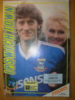 IPSWICH TOWN v STOKE CITY 1988-89 DIVISION 2