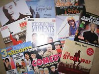 JOB LOT OF 10 DAILY MAIL ETC PROMO DVD's LOT 3