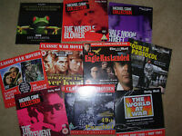 JOB LOT OF 10 DAILY MAIL ETC PROMO DVD's LOT 17