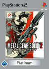 Metal Gear Solid 2 - Sons Of Liberty Platinum PS2 Playstation 2