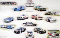 British Touring Cars Championship BTCC 1992 BMW Print by Rosemary Hutchings