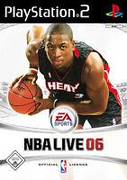 NBA Live 06 PS2 Playstation 2