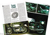 Old TRITON MOTORCYCLE Article / Photo's / Pictures: DRESDA, M/C
