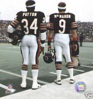 Walter Payton Jim McMahon Classic 8x10 Color Photo Chicago Bears NFL