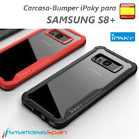 CARCASA SAMSUNG GALAXY S8+ IPAKY COVER FUNDA BUMPER FUSION PROTECTOR TPU S8 PLUS