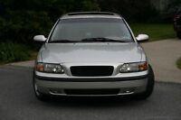 VOLVO V70 2001 - 2004 ALL BLACK Mesh Sport Grill Grille ABS frame + ALU MESH