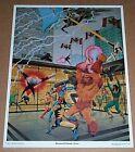 1983 Uncanny X-Men vs Alpha Flight 14 x 11 Marvel Comics poster:Wolverine/1980's
