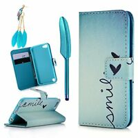 iPod Case iPod Touch 5 Case - MOLLYCOOCLE Stand Wallet Purse Credit Card ID