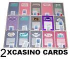 2 x JEUX DE VEGAS poker casino cartes à jouer