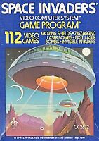 Space Invaders Atari 2600 -- Game only
