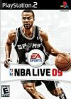 NBA Live 09 (Sony PlayStation 2, 2008)