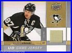 2009-10 Upper Deck Series 1 Sidney Crosby Game Jersey Gold Very Rare !