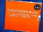 MARLENE KUNZ + SKIN La Canzone che Scrivo per Te CD SINGOLO NUOVO RARO!!!
