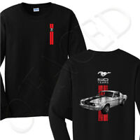 Ford Mustang 50 Years Men's Long Sleeve T-shirt 2 sides printed  - 1285F