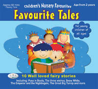 Favourite Tales: Children's Nursery Favourites by CRS Records (CD-Audio, 2007)