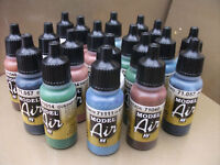 VALLEJO MODEL AIR ACRYLIC AIRBRUSH PAINTS CHOOSE 10 x 17ml INCLUDING NEW COLOURS
