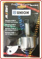 Union Bottle Dynamo for Bicycle (right mount)  6V/3W Go battery-less!!!