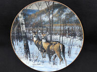 Danbury Mint,Wonders of the Wilderness-Blue Wax Trail,Michael Sieve ,Plate # E44