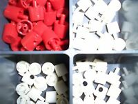 100 ASSORTED GENERIC GENERAL PURPOSE SPRAY PAINT CAN TIPS NOZZLES CAPS