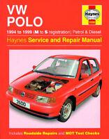 Volkswagen VW Polo Petrol Diesel 94-99 Haynes Manual 3500 NEW