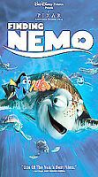 Finding Nemo (VHS Tape, 2003) Disney Pixar Clamshell Nearly New
