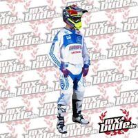 Troy Lee Designs SE PRO JERSEY ADIDAS TEAM MTB MOTOCROSS MX FMX CROSS BIANCO BLU
