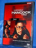 HERBIE HANCOCK TRIO Recorded Live al the Munich Philharmonie DVD NUOVO SIGILLATO