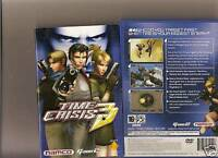 Time Crisis 3 (Sony PlayStation 2, 2003) - European Version
