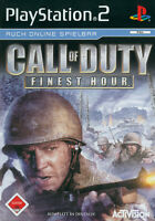 Call Of Duty: Finest Hour Platinum PS2 Playstation 2 USK 18