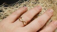 0.50Ct  Round Cut Diamond Engagement & Wedding Ring 14k Yellow Gold Over