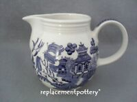 Churchill Blue Willow large jug