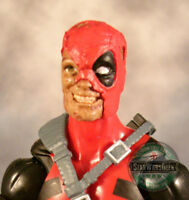 Custom cast and painted Marvel Legends replacement heads PRE-ORDER Please Read