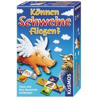 KOSMOS Kinderspiele Können Schweine fliegen? Mitbringspiel Kinder Spiel 699130