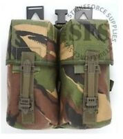 NEW! Army Issue PLCE DPM Camo Double Ammunition Pouch