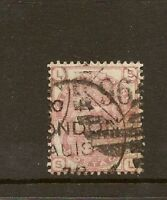 GB 1873 SG143/4 3d ROSE PLATE 17 CDS USED ' SL '