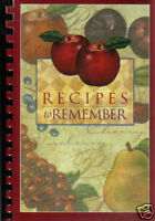 *PARADISE CA 2002 *RECIPES TO REMEMBER COOK BOOK *ST THOMAS MORE CATHOLIC CHURCH