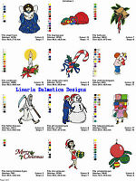 CHRISTMAS HOLIDAY V. 1 (4x4) MACHINE EMBROIDERY DESIGNS