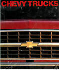 1989 CHEVROLET CHEVY TRUCK SALES BROCHURE CATALOG