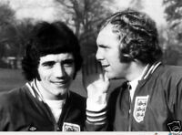 Kevin Keegan Bobby Moore England Legends 10x8 Photo