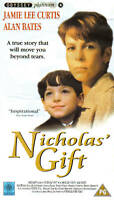 NICHOLAS' GIFT (PAL VHS Video) (Jamie Lee Curtis/Alan Bates)
