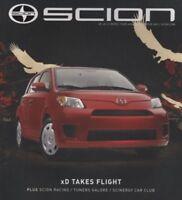 2008 Scion xD tC Xb Toyota Sales Brochure Book Catalog