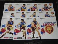 2010 AFL SELECT PRESTIGE BRISBANE TEAM SET