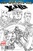 HEROIC AGE UNCANNY X-MEN #1 2ND PRINT VARIANT COVER NM