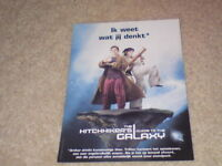 UNUSED POSTCARD - HITCHHIKER'S GUIDE TO THE GALAXY #3