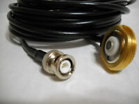 NMO ANTENNA MOUNT 3/4 HOLE RG 58 with BNC CONNECTOR