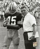 VINCE LOMBARDI BART STARR GREEN BAY PACKERS 8X10 PHOTO