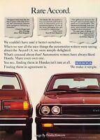 1979 Honda Accord Classic Advertisement Ad P43