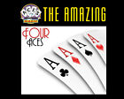 MAGIC TRICK - THE AMAZING 4 ACES - Bicycle Cards