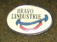 OVAL PIN BADGE - BRAVO L'INDUSTRIE #2